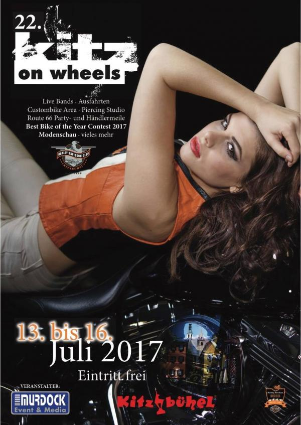 Plakat Kitz on Wheels 2017
